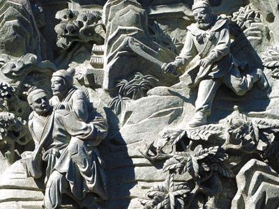 【浮雕1290】石浮雕雕刻厂