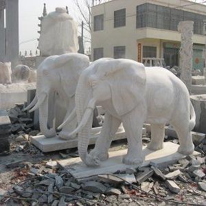 【石雕动物系列090】石雕大象多少钱