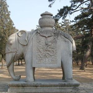 【石雕动物系列092】石雕大象定制