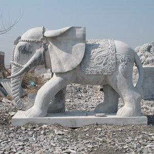 【石雕动物系列094】石雕大象哪家好