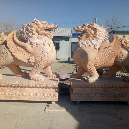 【石雕动物系列084】石雕貔貅雕刻厂