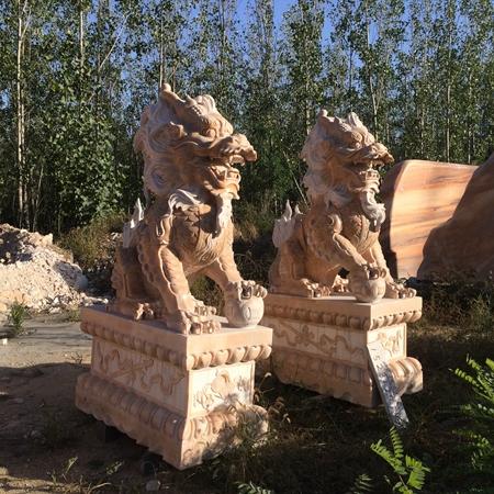 【石雕动物系列085】石雕貔貅批发