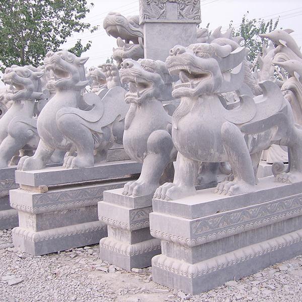 【石雕动物系列096】石雕貔貅雕刻厂