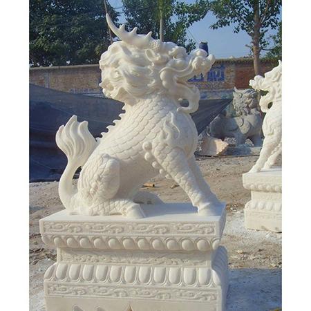 【石雕动物系列391】动物瑞兽-麒麟多少钱