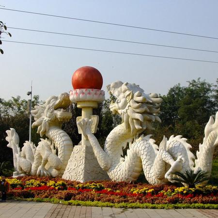 【石雕动物系列433】石雕龙雕刻厂