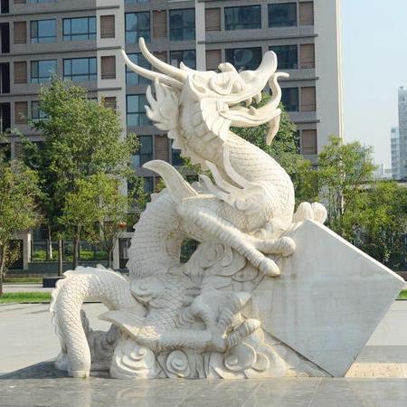 【石雕动物系列441】石雕龙雕刻厂