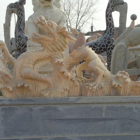 【石雕动物系列453】石雕龙雕刻厂