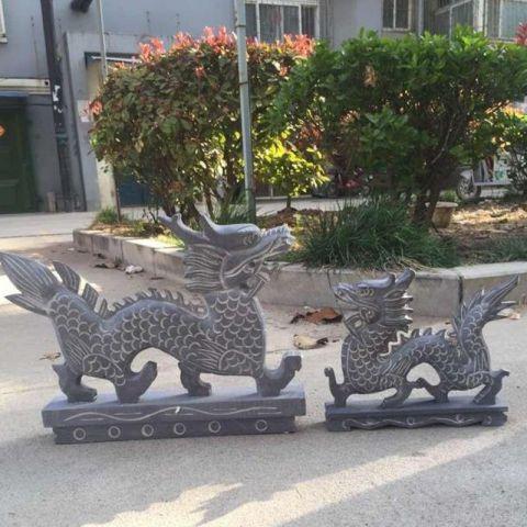 【石雕动物系列466】石雕龙厂
