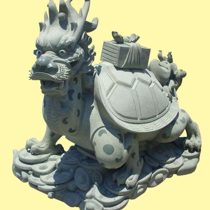 【石雕动物系列481】石雕龙龟公司