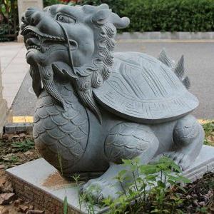 【石雕动物系列486】石雕龙龟报价