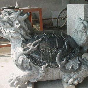 【石雕动物系列489】石雕龙龟雕刻厂