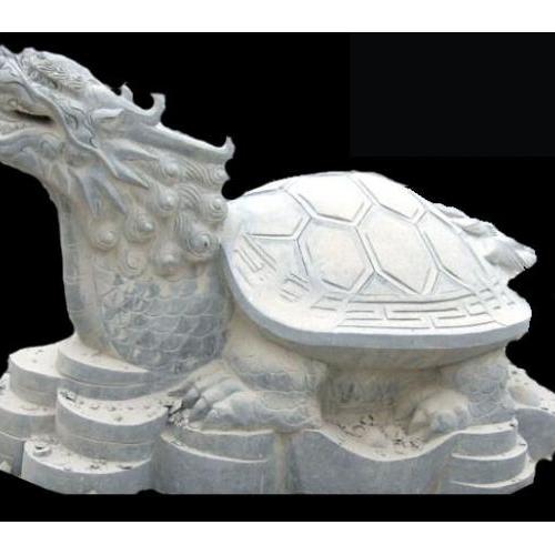 【石雕动物系列491】石雕龙龟批发