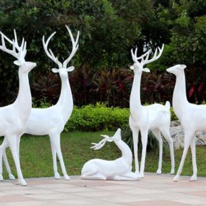 【石雕动物系列497】石雕鹿供应