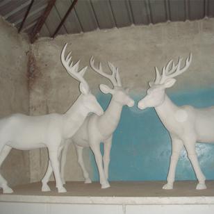 【石雕动物系列500】石雕鹿多少钱