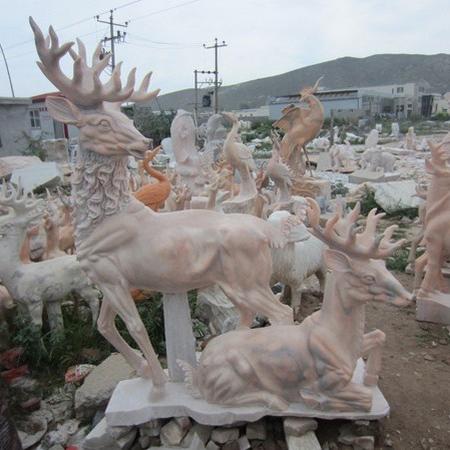【石雕动物系列521】石雕鹿供应