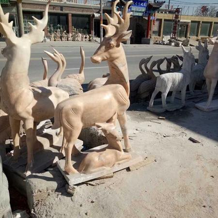 【石雕动物系列532】石雕鹿哪家好