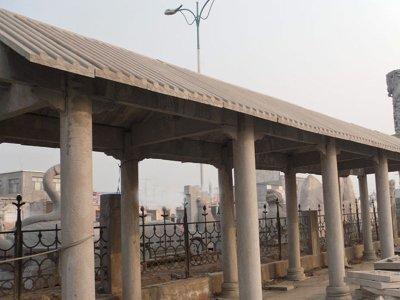 【园林景观026】石雕花架长廊供应