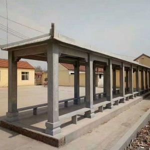 【园林景观101】石雕花架长廊批发