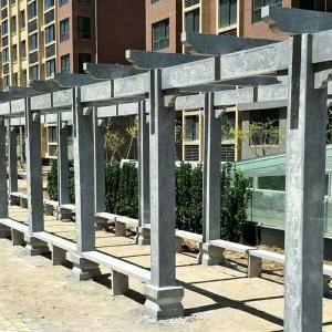 【园林景观107】石雕花架长廊供应