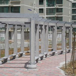 【园林景观108】石雕花架长廊厂