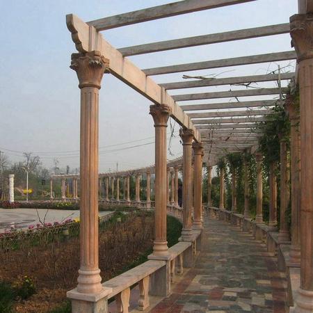 【园林景观109】石雕花架长廊定做