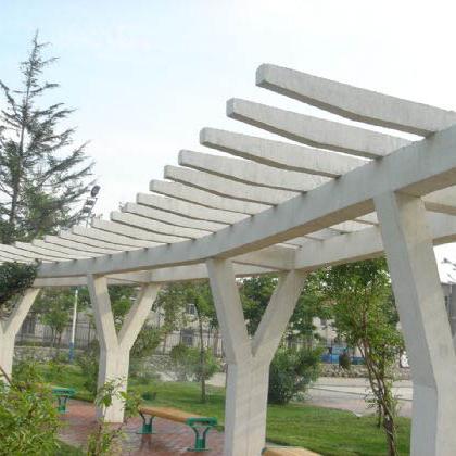 【园林景观118】石雕花架长廊定制