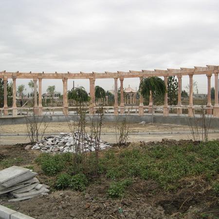 【园林景观119】石雕花架长廊供应