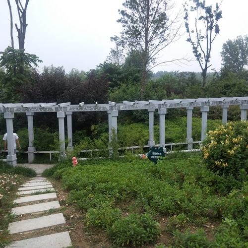 【园林景观129】石雕花架长廊多少钱