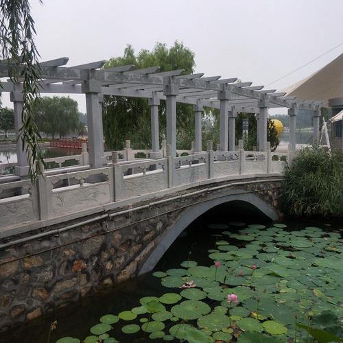 【园林景观130】石雕花架长廊公司