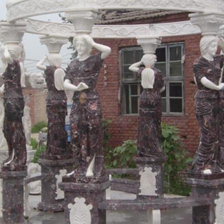【园林景观系列151】石雕花架长廊厂