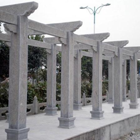 【园林景观系列152】石雕花架长廊定做