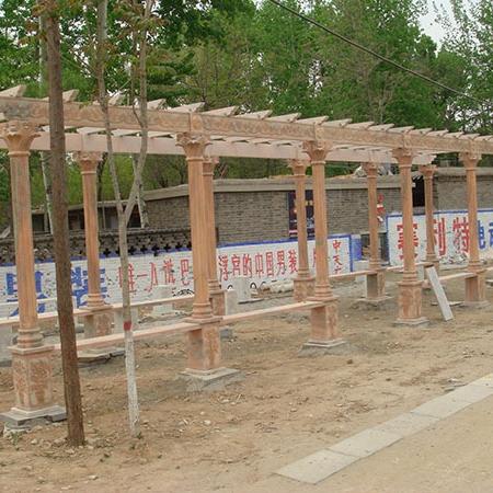 【园林景观系列154】石雕花架长廊公司