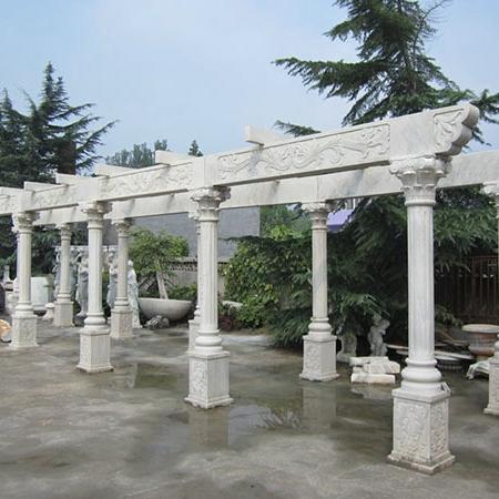 【园林景观157】石雕花架长廊哪家好