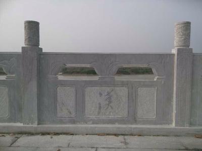 【石雕栏板栏杆系列417】石栏板石栏