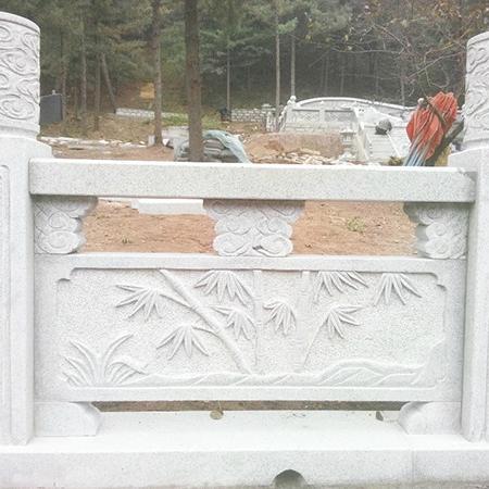 【石雕栏板栏杆系列940】汉白玉栏杆多少钱