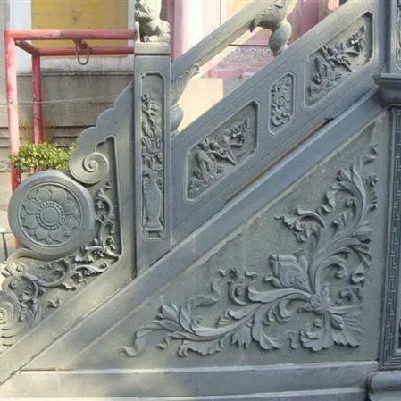 【石雕栏板栏杆系列967】青石栏杆批发