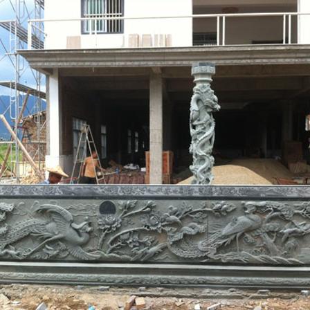 【石雕栏板栏杆系列969】青石栏杆公司