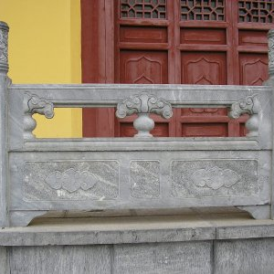 【石雕栏板栏杆系列976】青石栏杆多少钱