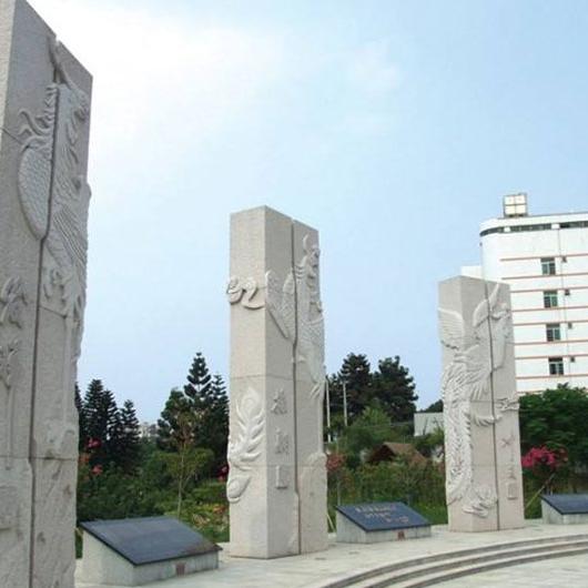 【龙柱华表系列070石雕异形柱】石雕柱子厂家