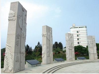 【龙柱华表系列319石雕盘龙柱】中华