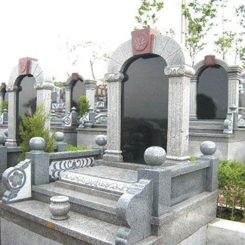 【石雕墓碑系列214】石材墓碑雕刻