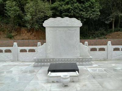 【石雕墓碑系列215】墓碑石材雕刻价