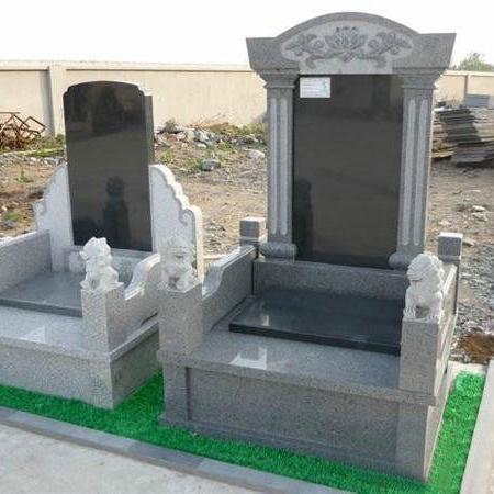 【石雕墓碑系列218】墓碑雕刻厂家