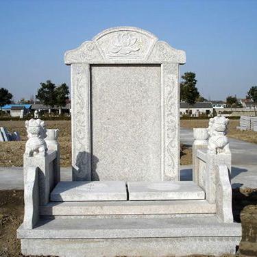 【石雕墓碑系列222】墓碑雕塑