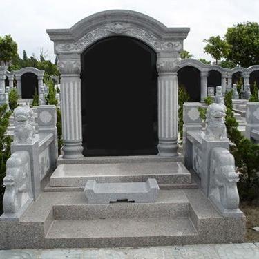 【石雕墓碑系列223】南充墓碑雕刻