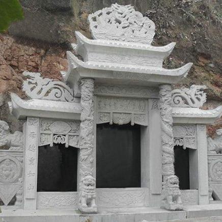 【石雕墓碑系列224】乐山墓碑雕刻