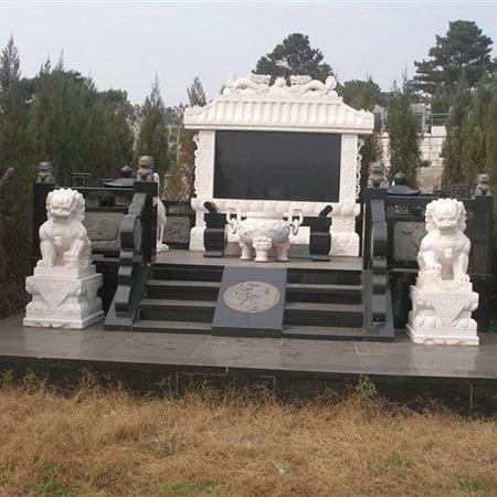 【石雕墓碑系列225】墓碑雕刻报价