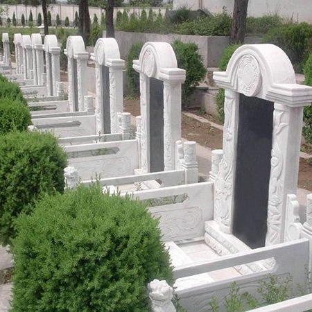【石雕墓碑系列227】墓碑雕刻价格