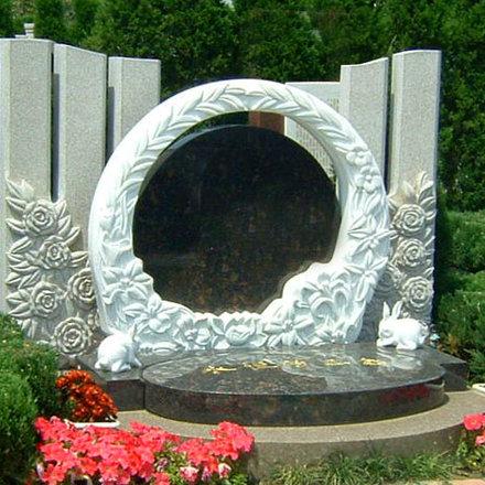 【石雕墓碑系列248】石雕墓碑厂家