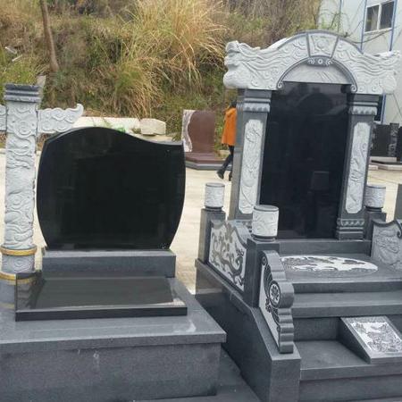 【石雕墓碑系列258】墓碑雕刻多少钱
